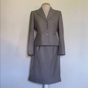 Kasper Grey Skirt Suit